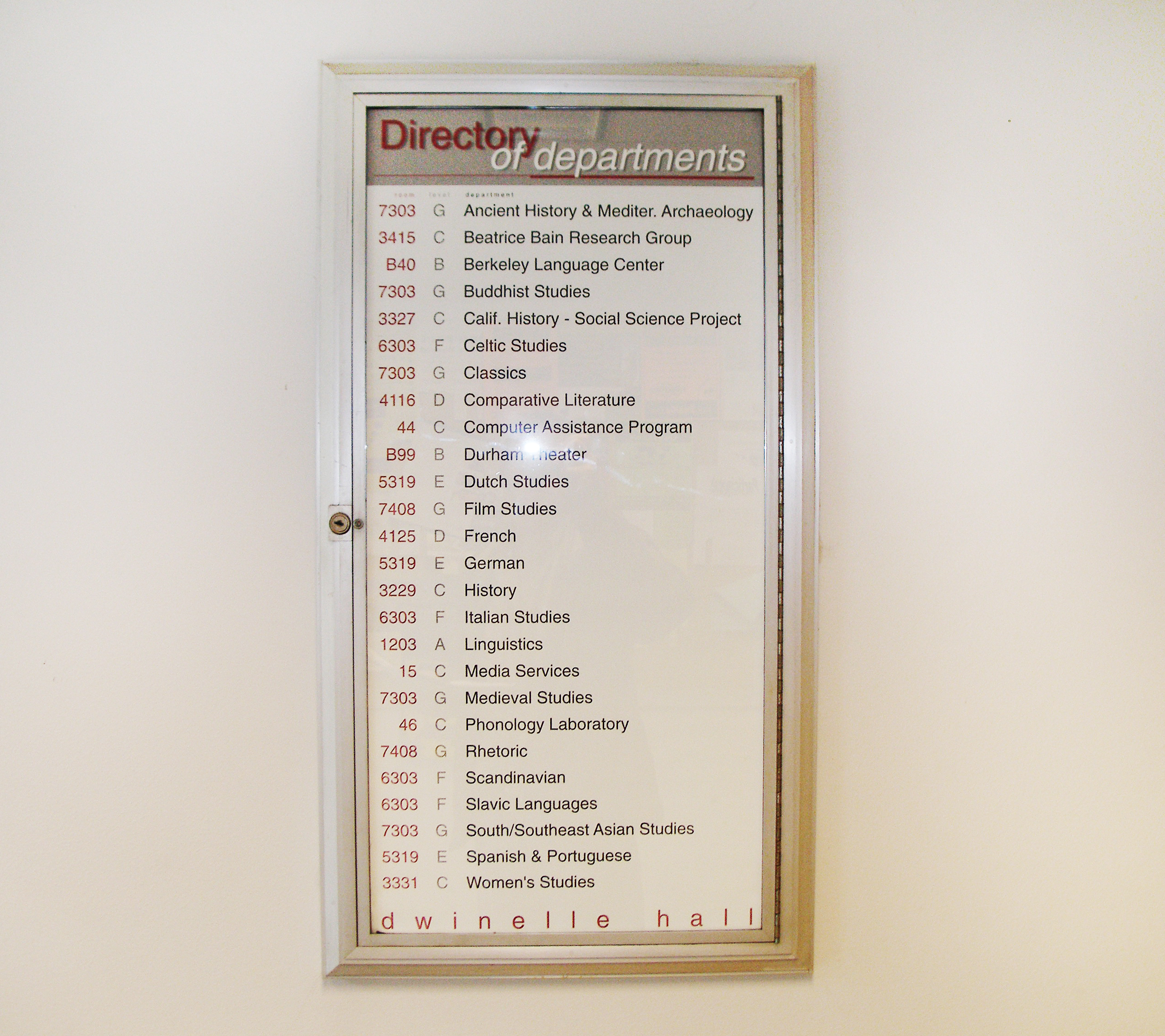 Directories (old) | LaHue And Associates